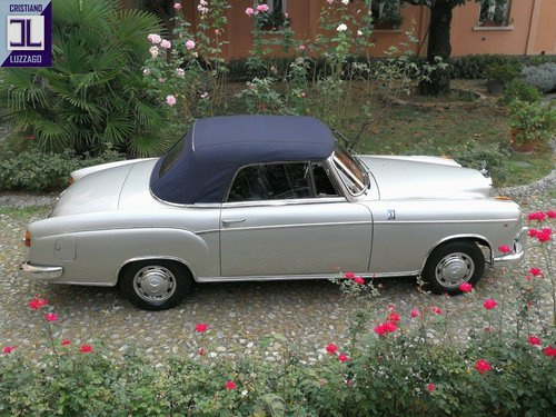 1957 MERCEDES BENZ 220 S CONVERTIBILE PONTON For Sale (picture 3 of 6)