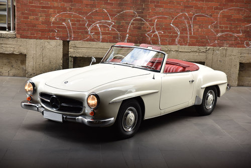 1963 Mercedes-Benz 190SL Roadster For Sale (picture 3 of 6)