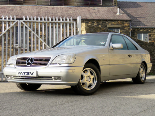 1998 Mercedes C140 CL420 V8 Coupe - 81K - FSH - Immaculate SOLD (picture 1 of 6)