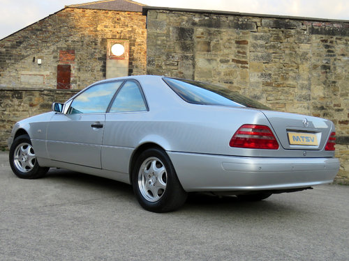 1998 Mercedes C140 CL420 V8 Coupe - 81K - FSH - Immaculate SOLD (picture 2 of 6)
