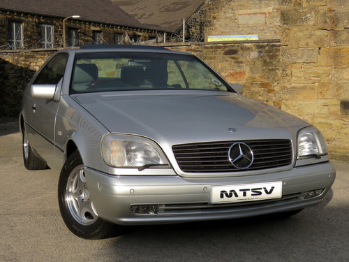 1998 Mercedes C140 CL420 V8 Coupe - 81K - FSH - Immaculate SOLD (picture 3 of 6)