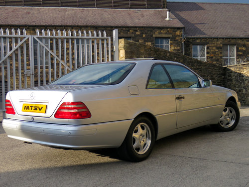 1998 Mercedes C140 CL420 V8 Coupe - 81K - FSH - Immaculate SOLD (picture 4 of 6)