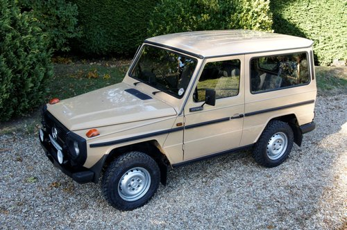 1985 Mercedes-Benz 230 GE G Wagon 4 Speed Manual For Sale (picture 1 of 6)