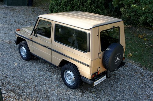1985 Mercedes-Benz 230 GE G Wagon 4 Speed Manual For Sale (picture 2 of 6)