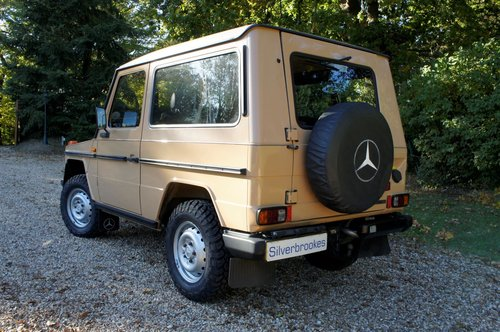 1985 Mercedes-Benz 230 GE G Wagon 4 Speed Manual For Sale (picture 3 of 6)