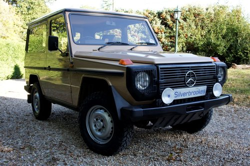 1985 Mercedes-Benz 230 GE G Wagon 4 Speed Manual For Sale (picture 4 of 6)