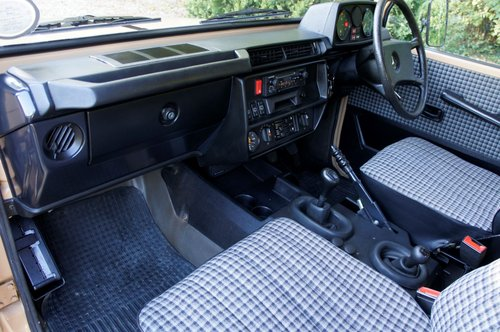 1985 Mercedes-Benz 230 GE G Wagon 4 Speed Manual For Sale (picture 6 of 6)