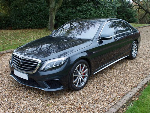 2014 Mercedes S63 AMG L 1 Owner with a huge specification  For Sale (picture 1 of 6)