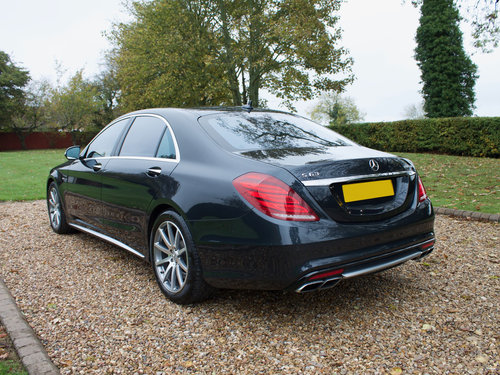 2014 Mercedes S63 AMG L 1 Owner with a huge specification  For Sale (picture 2 of 6)