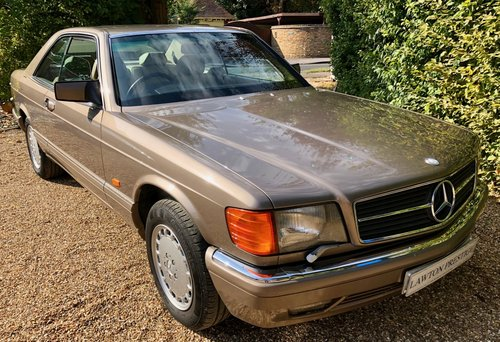 1991/H Mercedes 500SEC *SOLD* FMBSH. 560SEC 420SEC Wanted (picture 1 of 6)