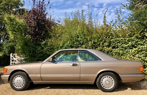 1991/H Mercedes 500SEC *SOLD* FMBSH. 560SEC 420SEC Wanted (picture 2 of 6)