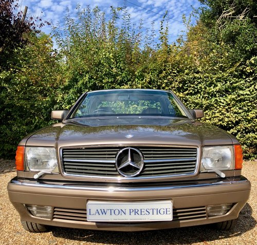 1991/H Mercedes 500SEC *SOLD* FMBSH. 560SEC 420SEC For Sale (picture 3 of 6)