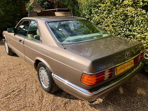 1991/H Mercedes 500SEC *SOLD* FMBSH. 560SEC 420SEC Wanted (picture 4 of 6)