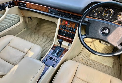 1991/H Mercedes 500SEC *SOLD* FMBSH. 560SEC 420SEC Wanted (picture 5 of 6)