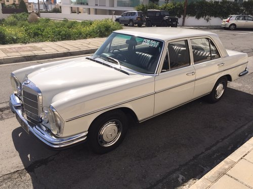 CLASSIC MERCEDES 280se 1972 For Sale (picture 6 of 6)