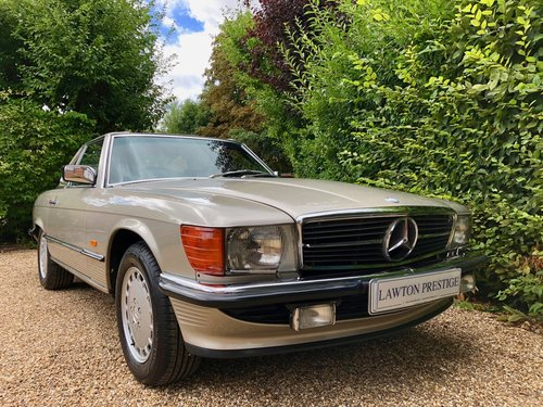 1988/F - Mercedes 300SL R107. **SOLD** 420SL 500SL. For Sale (picture 3 of 6)