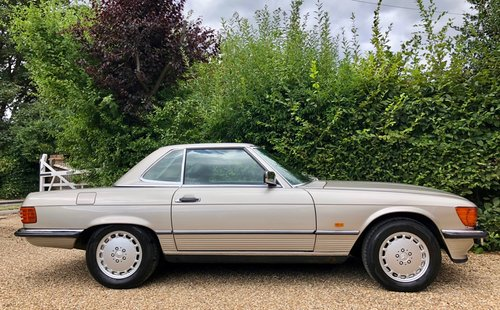 1988/F - Mercedes 300SL R107. **SOLD** 420SL 500SL. For Sale (picture 4 of 6)