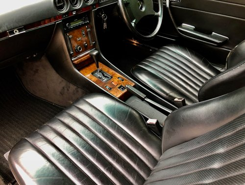 1988/F - Mercedes 300SL R107. **SOLD** 420SL 500SL. For Sale (picture 5 of 6)