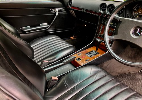 1988/F - Mercedes 300SL R107. **SOLD** 420SL 500SL. For Sale (picture 6 of 6)