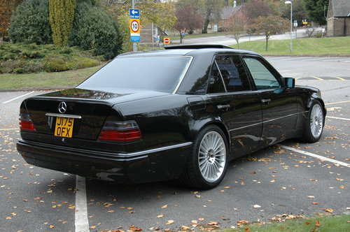 Mercedes E500 500E - 1992 - 75000miles - 3 Owners For Sale (picture 2 of 6)