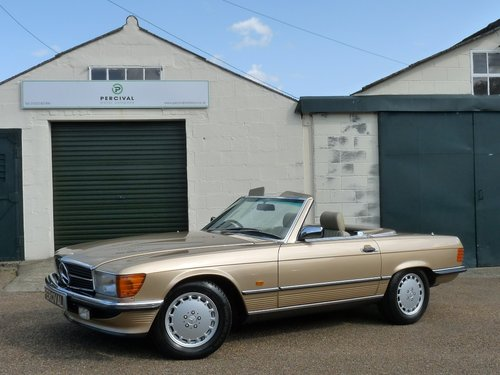 1986 Mercedes 300 SL, in beautiful condition, SOLD SOLD (picture 1 of 6)