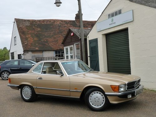 1986 Mercedes 300 SL, in beautiful condition, SOLD SOLD (picture 4 of 6)