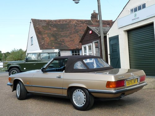 1986 Mercedes 300 SL, in beautiful condition, SOLD SOLD (picture 6 of 6)