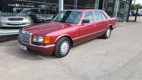 1990 Mercedes-Benz 500 SEL Auto SOLD (picture 1 of 3)