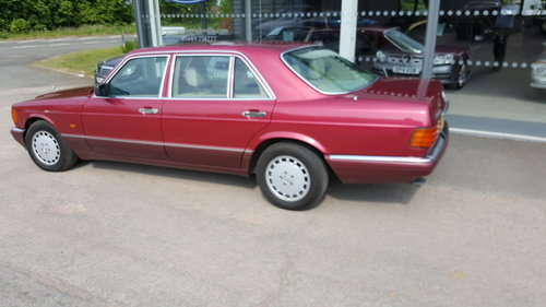 1990 Mercedes-Benz 500 SEL Auto SOLD (picture 2 of 3)