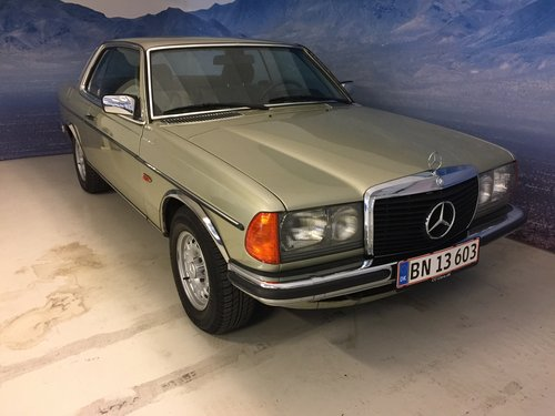 1980 Mercedes-Benz 280 CE Coupe SOLD (picture 1 of 6)