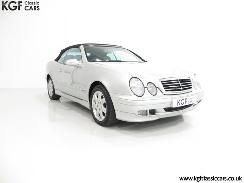 2002 A Luxurious Mercedes-Benz CLK320 Avantgarde (A208) SOLD (picture 1 of 6)
