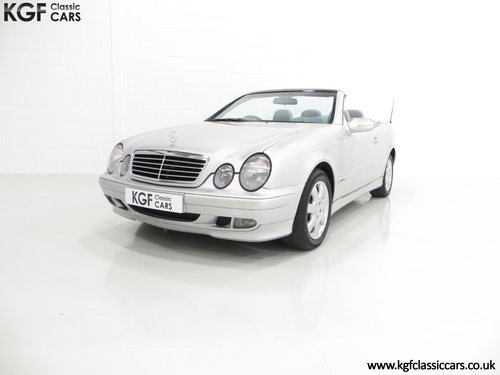 2002 A Luxurious Mercedes-Benz CLK320 Avantgarde (A208) SOLD (picture 2 of 6)