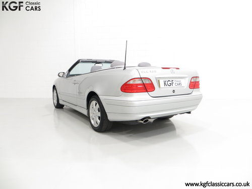 2002 A Luxurious Mercedes-Benz CLK320 Avantgarde (A208) SOLD (picture 4 of 6)