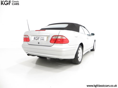 2002 A Luxurious Mercedes-Benz CLK320 Avantgarde (A208) SOLD (picture 5 of 6)
