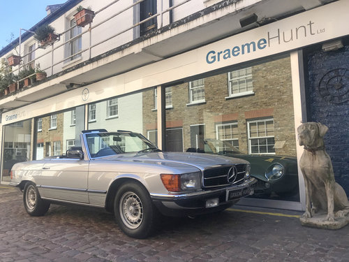 1984 Mercedes Benz 500SL - Fully restored condition SOLD (picture 1 of 6)