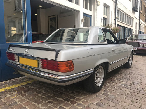 1984 Mercedes Benz 500SL - Fully restored condition SOLD (picture 4 of 6)