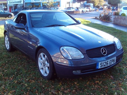 1999 Mercedes Benz SLK 230 Kompressor For Sale (picture 1 of 1)