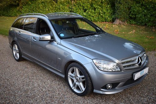 2010 Mercedes C350 CDI Sport Estate MB history MB Warranty! SOLD (picture 1 of 6)