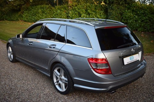 2010 Mercedes C350 CDI Sport Estate MB history MB Warranty! SOLD (picture 2 of 6)