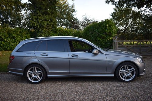 2010 Mercedes C350 CDI Sport Estate MB history MB Warranty! SOLD (picture 3 of 6)