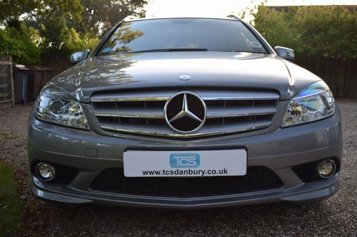2010 Mercedes C350 CDI Sport Estate MB history MB Warranty! SOLD (picture 4 of 6)
