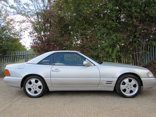 1999 Mercedes SL500 (R129) 1 Former Owner / Facelift Model For Sale (picture 2 of 6)