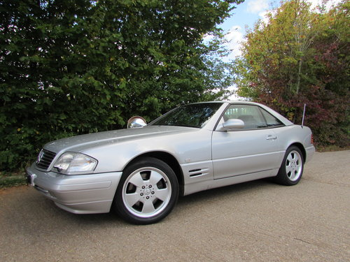 1999 Mercedes SL500 (R129) 1 Former Owner / Facelift Model For Sale (picture 3 of 6)