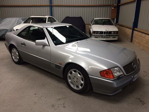 1993 Mercedes-Benz 500 SL SL500 28K Miles Stunning For Sale (picture 1 of 6)