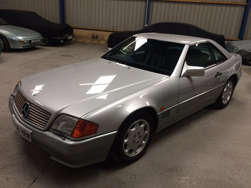 1993 Mercedes-Benz 500 SL SL500 28K Miles Stunning For Sale (picture 4 of 6)