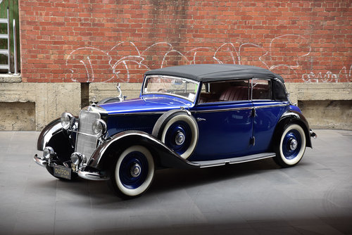 1936 Mercedes-Benz 230 Cabriolet For Sale (picture 3 of 6)