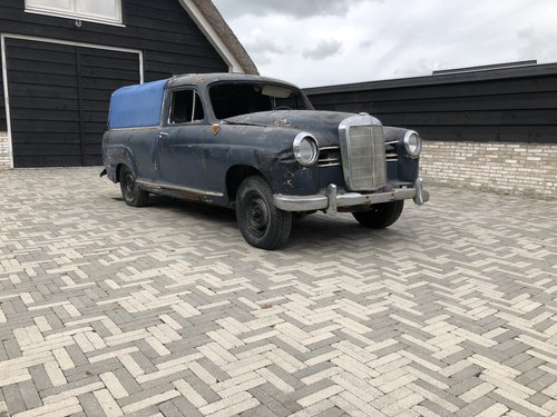 1955 Mercedes-Benz - RARE W180 BAKKIE PONTON , First Pick-up made For Sale (picture 1 of 6)