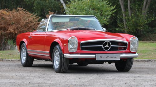 1971 MERCEDES 280 SL PAGODA For Sale (picture 1 of 6)