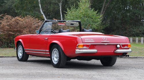 1971 MERCEDES 280 SL PAGODA For Sale (picture 2 of 6)