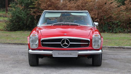 1971 MERCEDES 280 SL PAGODA For Sale (picture 3 of 6)